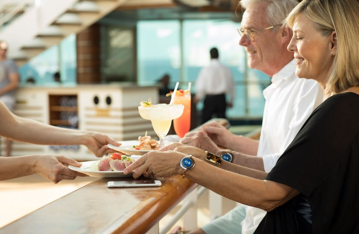 Travellers will be able to order food and have it delivered anywhere on the ship using the Ocean Medallion.