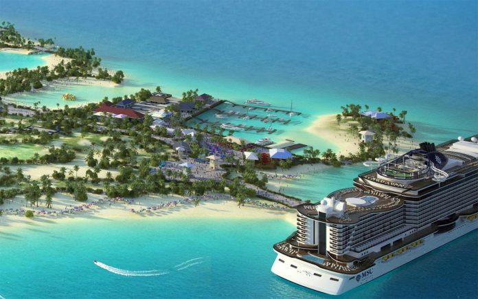 MSC Ocean Cay Marine Reserve will be open from November 2018.