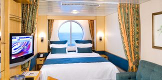An Ocean View stateroom on Radiance of the Seas