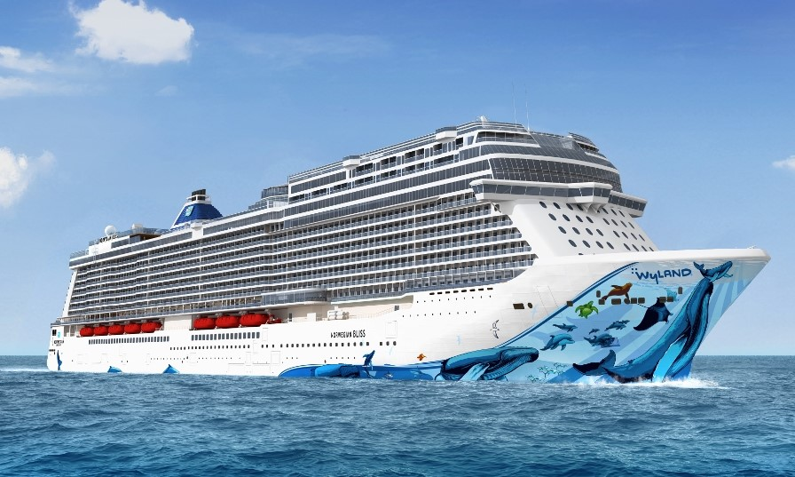 Norwegian Bliss will be the next member of the Norwegian Cruise Line fleet, joining in early 2018.