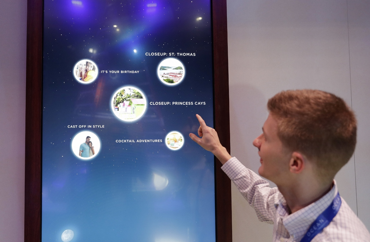 Carnival Corporation's Ocean Medallion will connect with many interactive screens and interfaces across compatible cruise ships.