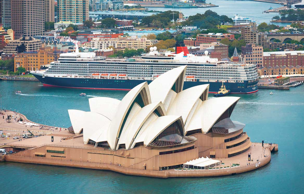 Queen Elizabeth is a regular visitor to Sydney in the early months of each year.