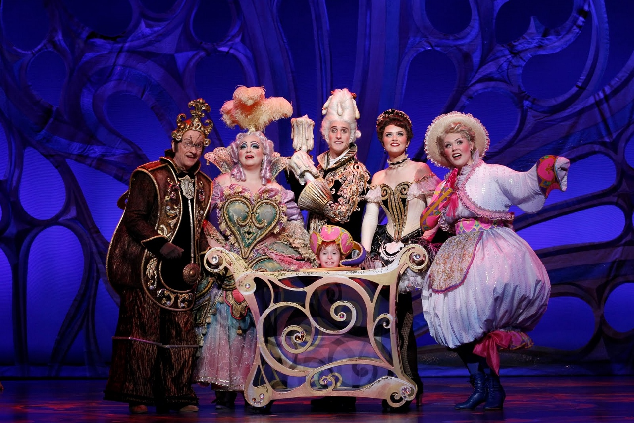 The entire lineup of supporting characters from Beauty & The Beast will appear in the Disney Cruise Line stageshow.