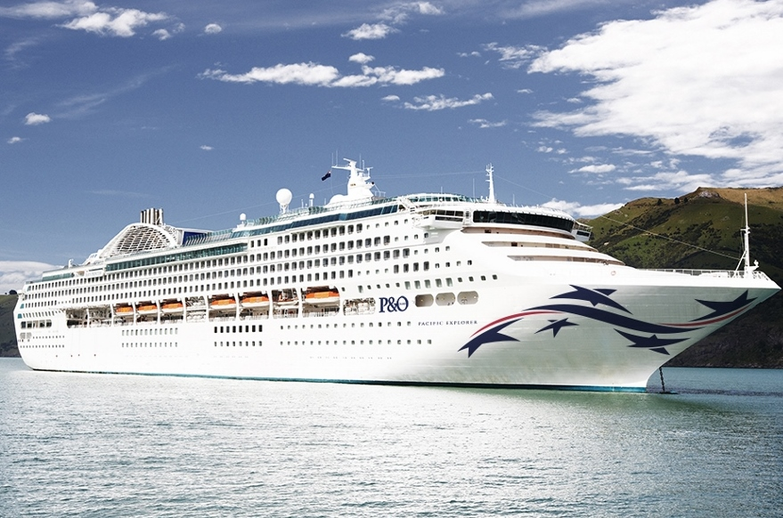Complete with the Southern Cross emblazoned on its hull, P&O Cruises takes delivery of Pacific Explorer in June.