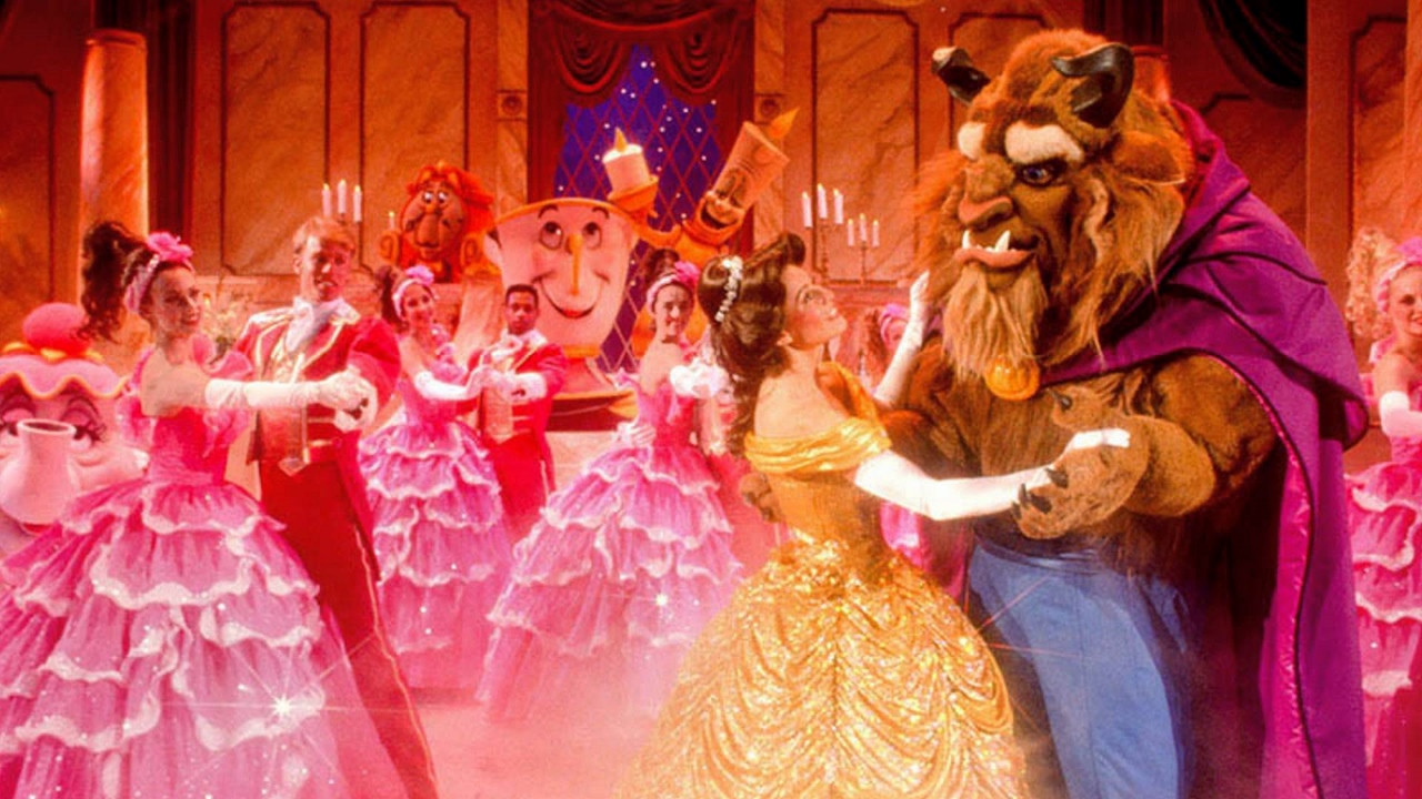 The classic ending of Disney Cruise Line's Beauty & The Beast will be a heartwarming display of warmth and colour.
