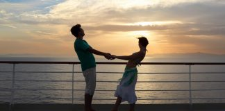 A cruise ship can provide the perfect romantic setting for you to spoil your loved one on Valentine's Day.