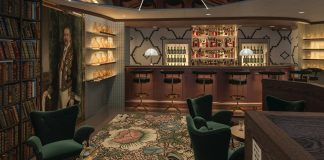 P&O Cruises' next new ship will feature The Bonded Store - a cocktail bar and gin mixing facility.