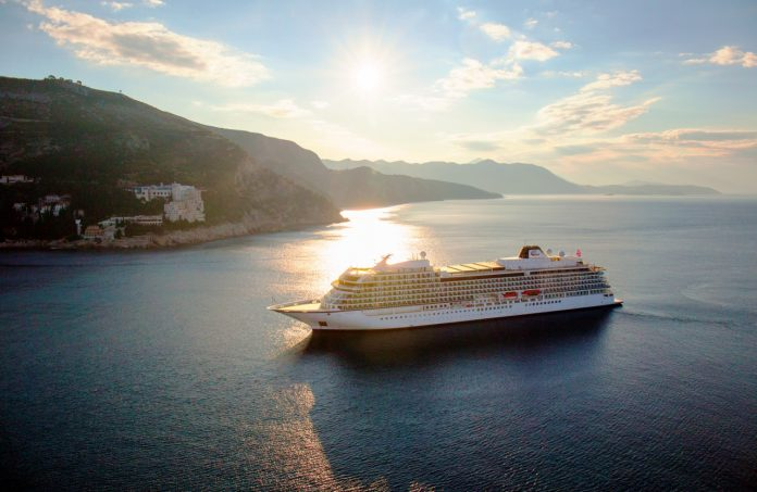 Viking Ocean Cruises has set sail with its fourth new ship, Viking Sky.