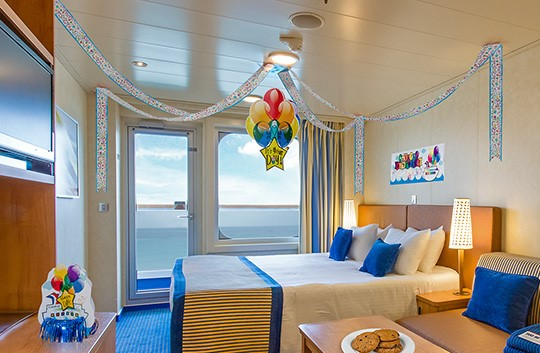Guests can load up a stateroom for friends or family with gifts as part of Carnival's Fun Shops program.