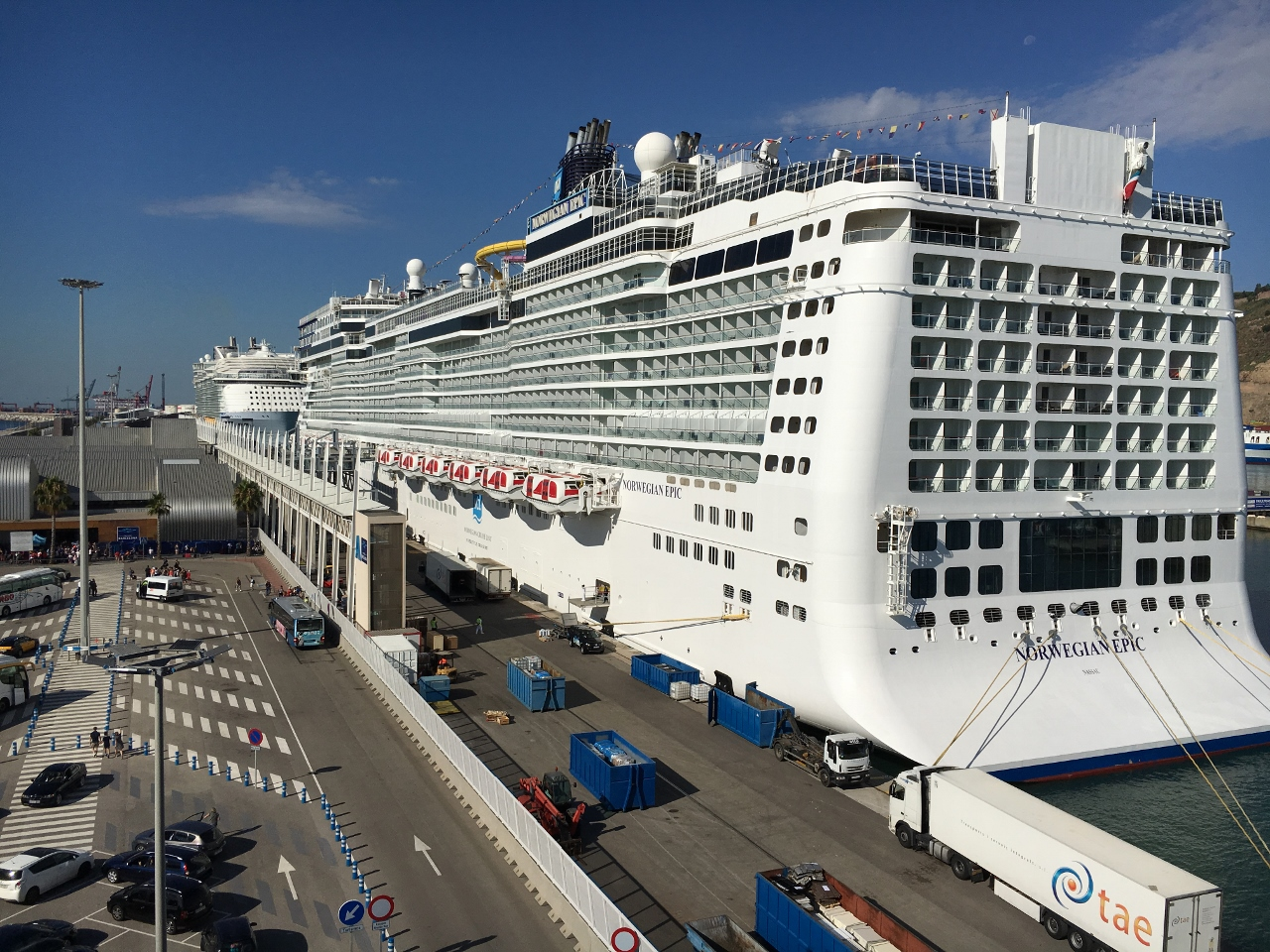 Norwegian Epic is one of the largest ships in the fleet and caters to over 4,000 guests at a time.