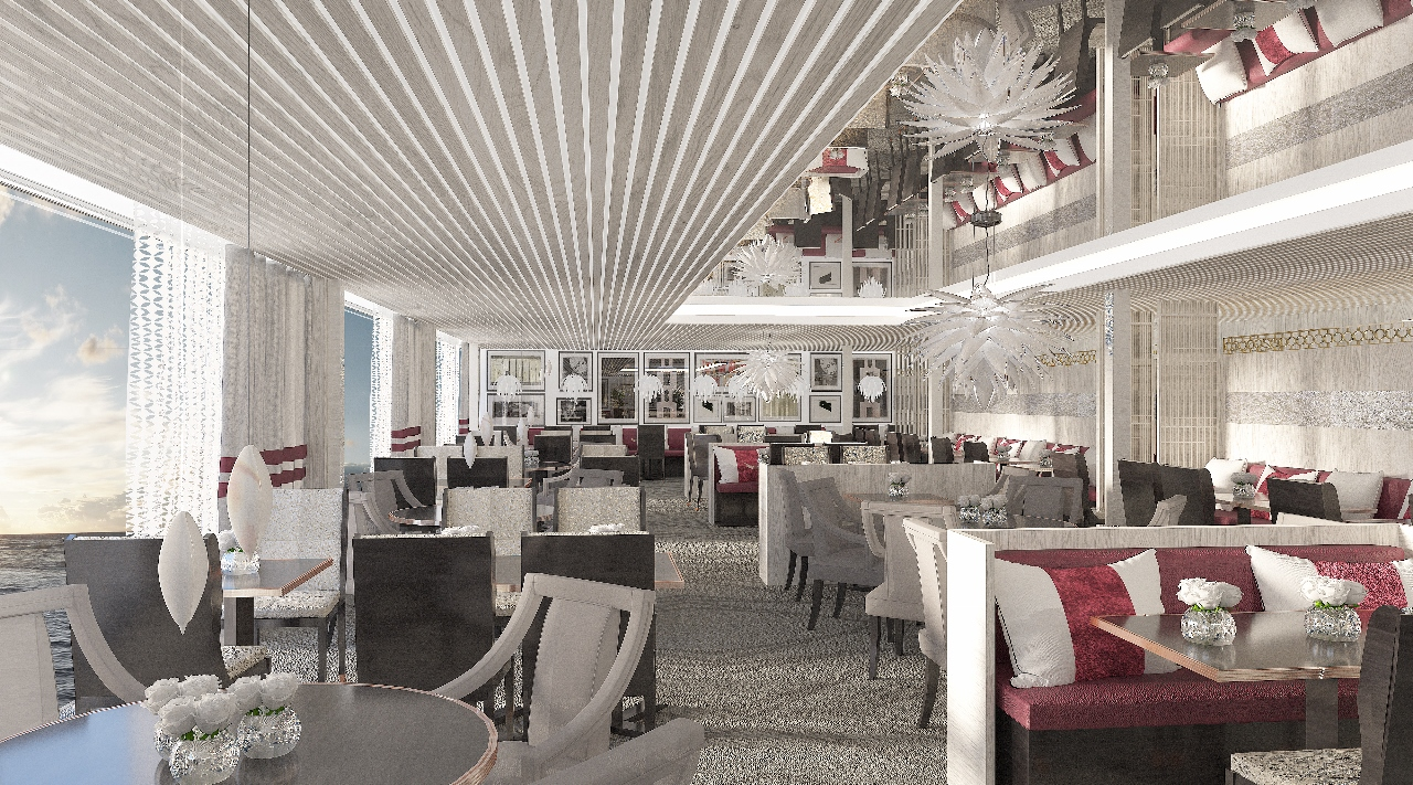 Luminae remains on the new Celebrity Edge as an exclusive dining option for guests booking a suite.