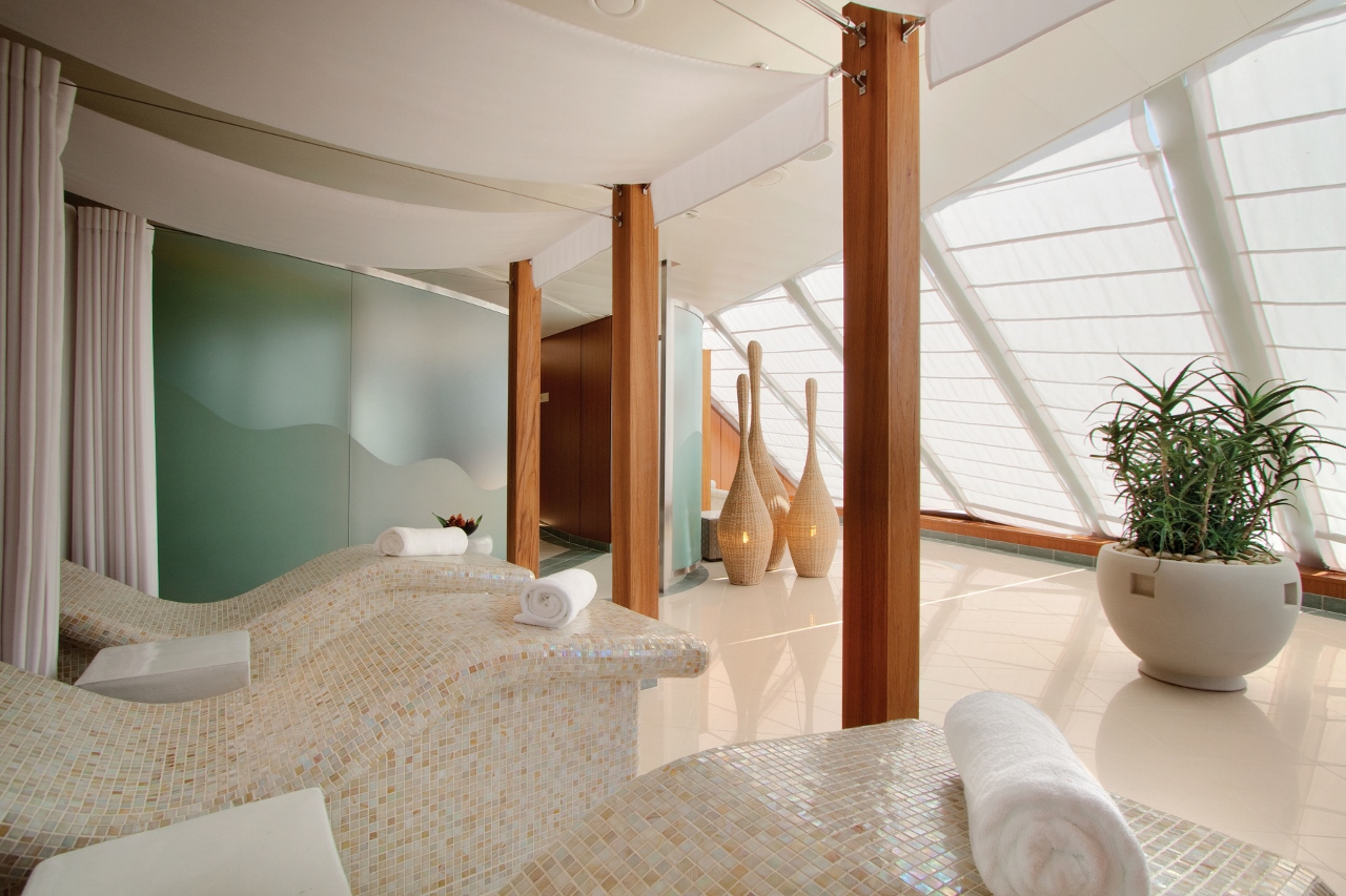 If you're not quite relaxed enough, a visit to the Canyon Ranch Spa Club will fix you up.